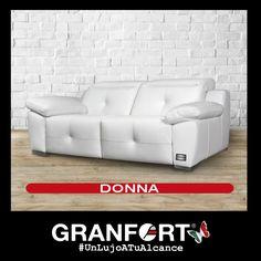 Llena de luz tu salón con el ultimo capricho de Sofás de Autor Granfort: DONNA #UnLujoATuAlcance #Deco #elegancia