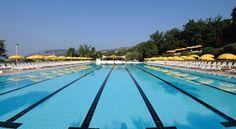Nice olympic pool at Poiano Resort Hotel - Garda, Italia ; Booking.com: