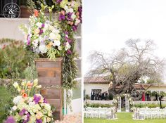 Gorgeous ceremony with french doors at The Inn at Rancho Santa Fe Wedding | Marina and Safy  Photography by Clove & Kin. View More:  http://cloveandkin.com/blog/the-inn-at-rancho-santa-fe-wedding-marina-safy/
