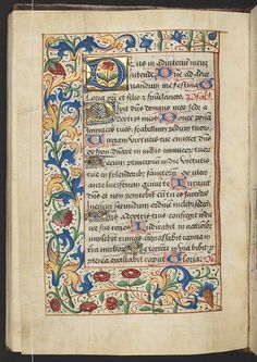 When I worked at the Getty, I would spend my free time staring at these beautiful books. Illuminated Manuscripts