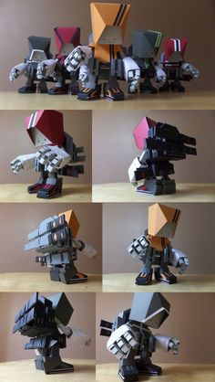 "SpankyStokes.com | Vinyl Toys, Art, Culture, & Everything Inbetween: Paper Toys on steroids... ITP Studios ""AR-O1"" rele..."