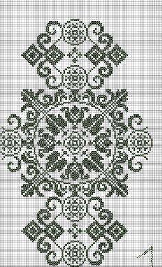 Bordado Sokal - cross stitch/ needlework You can cause really special patterns for materials with cross stitch. Cross stitch designs can almost impress you. Cross stitch novices could make the designs they need without difficulty. Cross Stitch Borders, Cross Stitch Charts, Cross Stitch Designs, Cross Stitching, Cross Stitch Patterns, Christmas Embroidery Patterns, Hand Embroidery Patterns, Embroidery Designs, Blackwork Embroidery