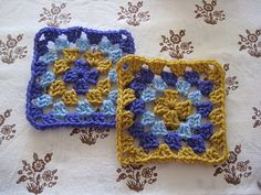 Granny Squares Patroon - Sew Natural Blog: Haakles voor Beginners