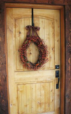 Rustic Autumn Berry Wreath