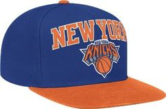 Nba New York Knicks Adult Structured Curved Brim Adjustable Fit Cap Hat New Sturdy Construction Basketball Memorabilia