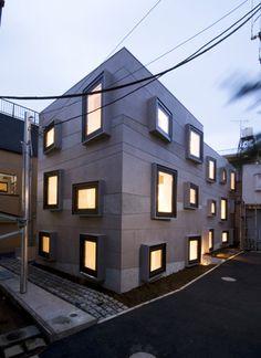 ISSHO Architects - works - KMM3 APARTMENT