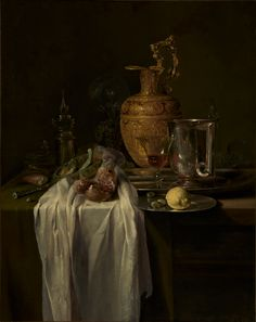 Willem Kalf,  collection of the J. Paul Getty Museum at the Getty Center and the Getty Villa.