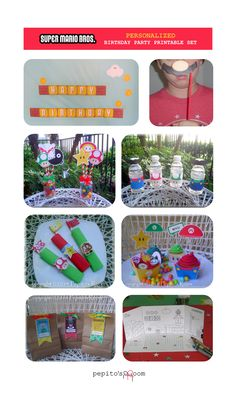 Mario Bros. HUGE Party Package