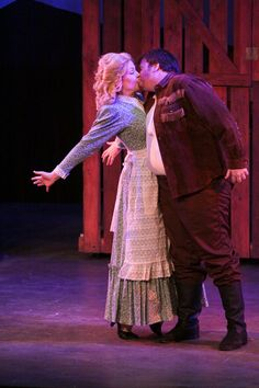 A production shot from the 6th Street Playhouse production Seven Brides for Seven Brothers opening tonight, 8/24 and running through 9/16.
