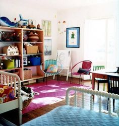 home of Sunrise and Mark Ruffalo as seen in Domino Mark Ruffalo, Armelle, Shared Rooms, Teen Girl Bedrooms, Kids Room Design, Kid Spaces, Play Spaces, Living Spaces, Girl Room