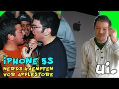 iPhone 5S: Nerds kämpfen vor Applestore, ui!