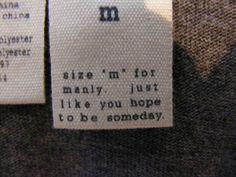 funny clothes labels - Google zoeken