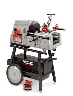 RIDGID threading equipment combines superior thread quality with robustness and ease of use. The 535 features a high clearance carriage that makes the threading operation easier and a generous top cover area that is ideal for keeping tools and work related materials handy.