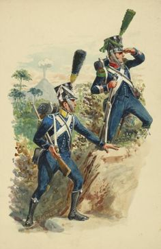 Volteggiatore e cacciatore della fanteria leggera francese