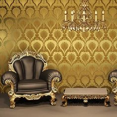 European luxury classic wallpaper  | Cheerhuzz  https://cheerhuzz.com/collections/wall-paper/products/gold-foil-wallpaper-wp83?variant=5205129348