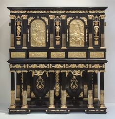 The Marie de Medici cabinet, about 1630-60, re-modelled about 1840-55, Paris-France or Antwerp- Netherlands | Flickr - Photo Sharing!