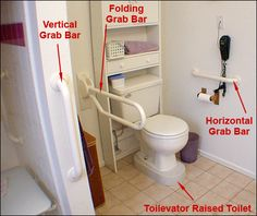 7 Grab Bar Installation Tips. Grab Bars are one of the most popular safety items for the bathroom. They come in a variety of shapes, sizes, colors, and configurations while adding form and function to one of the most popular rooms in the home. Here are 7 Grab Bar Installation Tips that we have discovered over the years. Pinned by ottoolkit.com your source for geriatric occupational therapy resources.