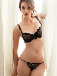 Lace Thong Panty The Victoria's Secret Designer Collection