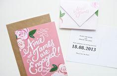 Creative Wedding Idea: Custom Calligraphy   OneWed