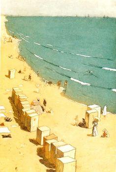 Tavik Frantisek Simon 1877-1942   Czech Colorist painter