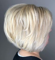 Neat Short Bob with Subtle Layers