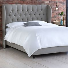 Jeffcoat Upholstered Panel Bed