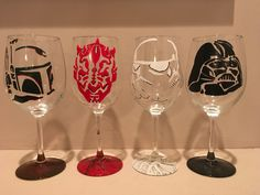 A personal favorite from my Etsy shop https://www.etsy.com/listing/484316274/set-of-hand-painted-star-wars-villains