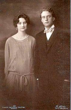 Queen Astrid and King Leopold III of Belgium