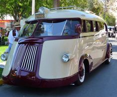 Since this is a fantasy trip...how cool would it be to roll into Fort Wilderness in this 1941 Western Flyer Motorhome?  It is definitely love at first sight.