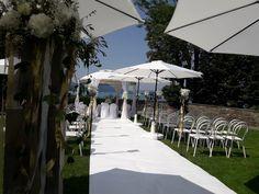Hochzeit mit Teppich in weiß Patio, Outdoor Decor, Home Decor, Garten, Wedding, Homemade Home Decor, Yard, Terrace, Decoration Home
