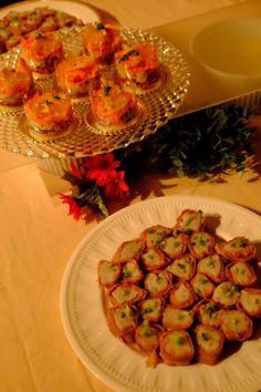 クリスマスパーティー ブィッフェケイタリング⑨ 生ハムの里芋のロール巻