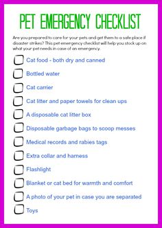 FEMA National Pet Disaster Preparedness Day is May 9th. Are you prepared to care for your pets and keep them safe if disaster strikes? Print out my free printable pet safety checklist and prepare now, before disaster strikes #FoodShelterLove #ad
