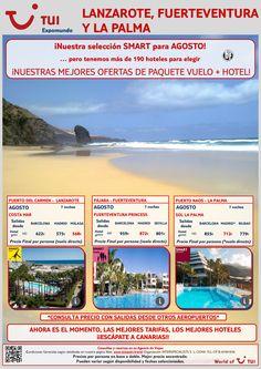 Nuestra selección smart para Canarias! AGOSTO. Vuelo+Hotel 7 noches. Precio final desde 568€ ultimo minuto - http://zocotours.com/nuestra-seleccion-smart-para-canarias-agosto-vuelohotel-7-noches-precio-final-desde-568e-ultimo-minuto/