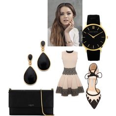 Untitled #228 by sarahepburn28 on Polyvore featuring polyvore fashion style Alexander McQueen Bionda Castana Lanvin Larsson & Jennings Kenneth Jay Lane