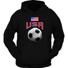 USA Soccer United States of America Flag Hoodie