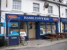 Hamiltons, Leenane, a bar, gas station and grocery store, the best Guinness in Ireland!!