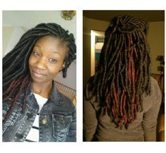 MARLEY LOCS!!!  MARLEY LOCS!!! MARLEY LOCS!!! #MARLEYLOCS #FAUXLOCS I THINK I'M GOING TO HAVE TO TRY THIS METHOD OF FAUX LOCS... THEY'RE BEAUTIFUL!