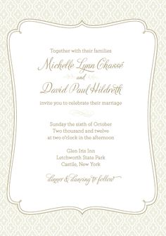 DIY Letterpress Wedding Invitations | Meridian Bride
