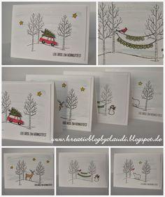 .    Kreativ Blog by Claudi: Weiße Weihnacht #2