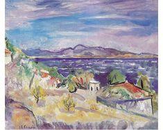 Golfe de Saint-Tropez, The Favouillou, 1941, Charles Camoin