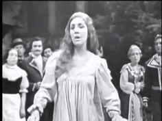 """Anna Moffo Amina Aria Ah! non credea mirarti"""" II Act II Scene  La Sonnambula Opera  By Vincenzo Bellini                                                     The Rain Orchestra & Chorus,  Orchestra Director :Bruno Bartoletti"""