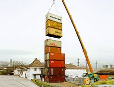 You probably know Switzerland based company Freitag for their innovative and stylish messenger bags made from old truck tarps, but did you know that they have another claim to fame?... Their radical shipping container store in Zurich boasts the title of being the tallest in the world!