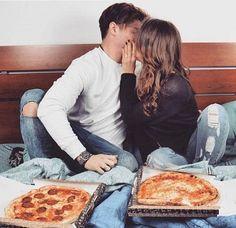 Pinterest: LotteLust #dating #date #pizzadate #kissing