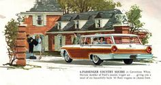 1961 Ford Country Squire Station Wagon