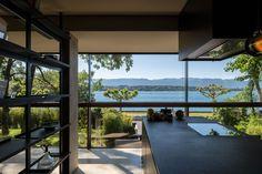 Architeketenhaus: Spiegelbild der Natur Bauhaus, Architecture Design, Boffi, Facade, Windows, Philippe, Inspiration, Nature, Build Your House