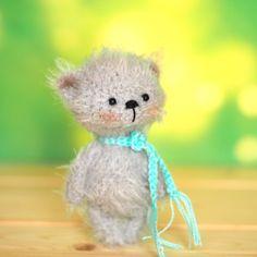 miniature teddy bear 4 inches