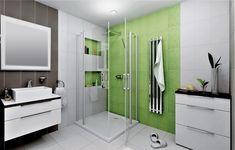 Přírodní odstíny zelené a hnědošedé barvy - to je koupelnová série obkladů a dlažeb Living Country. Obklady nabízíme ve formátu 20 x 40 cm a dlažby 33,3 x 33,3 cm. #keramikasoukup #koupelnyodsoukupa #serielivingcountry #inspirace #koupelna #inspiracekoupelny Country, Alcove, Bathtub, Bathroom, Standing Bath, Washroom, Bathtubs, Rural Area, Bath Tube