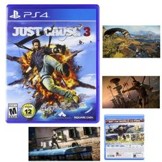 Just Cause 3 PlayStation 4 Sony Edition 2015 Day One New Ps4 Brand Free Shipping