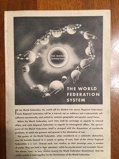New Trending Item: 1950's New World ...  Don't Wait!: http://www.synonyco.com/products/1950s-new-world-order-conspiracy-theory-pamphlet?utm_campaign=social_autopilot&utm_source=pin&utm_medium=pin