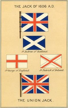 The Union Flag (the Union Jack). Africa Flag, Union Flags, Irish Traditions, Flags Of The World, Historical Architecture, Attack On Titan Anime, Union Jack, British History, British Isles